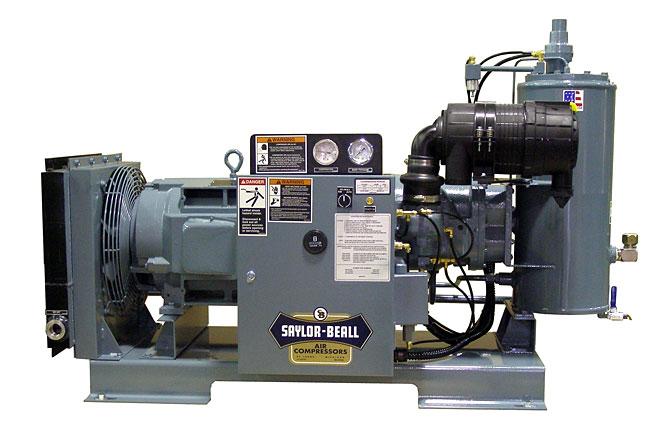 Rotary Screw Compressor : Saylor beall rotary screw compressors dynamic air